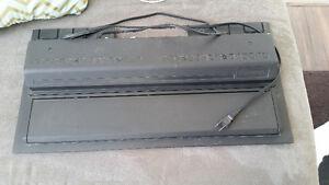 Black 24 inch hood