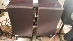 Rare Hitachi HS 40F speakers