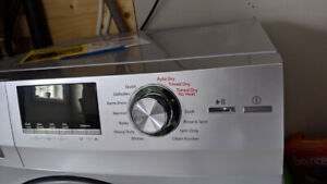 Haier combination washer and dryer