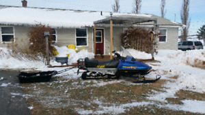 2001  skidoo 440 touring le