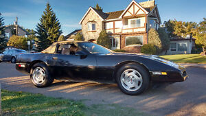 1988 Chevrolet Corvette Convertible 140Kms
