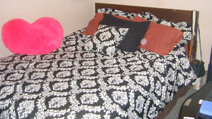 Furnished two bedroom suite Available May 1 or May 15