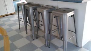 Brand new set of four bar/kitchen stools 30.5 inches tall