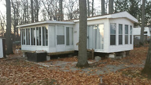 Park Model Trailer with Florida Room
