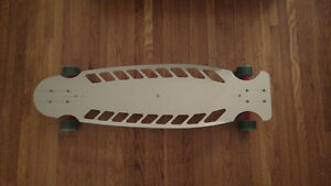 Unglued top mount longboard deck - brand new - in package