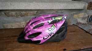 Casque vélo pour fillette - girls' bicycle helmet