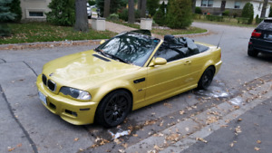 2001 bmw m3 convertible 6spd