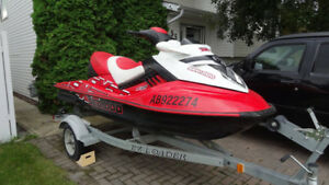 2007 Sea Doo RXT 215 HP for sale c\w EZ Loader trailer