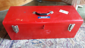 Tool Box with tools - Metal Work