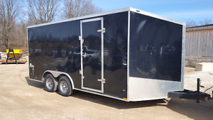 2016 8X16 STEALTH  ENCLOSED TRAILER