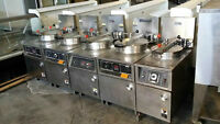 MUST SELL - BKI ELECTRIC PRESSURE FRYER