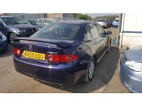 2005 Honda Accord Saloon 2.0i-VTEC 155 SE Petrol blue Manual