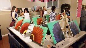 PaintnPitchers Paint parties at your Place Cambridge Kitchener Area image 10