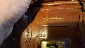 Vintage leather  bagЫ Regina Regina Area image 1