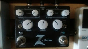 Dr Z dual overdrive pedal for trade