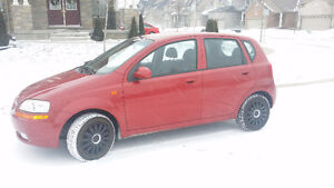 2004 Chevrolet Aveo  1 owner with safety e-test and car proof