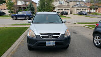 2002 Honda CR-V  Silver Certified and E-tested New tires
