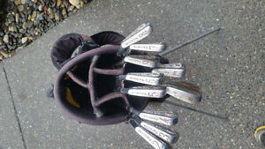 Golf clubs Ben Hogan irons and full set N