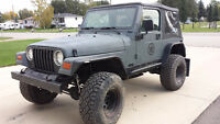 1997 Jeep TJ - V8 - must go!