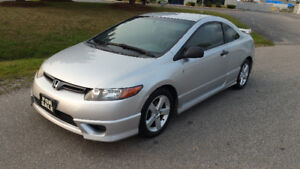 2007 HONDA CIVIC - 5SPD COUPE - $2895 SAFTIED + TAX
