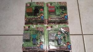 Minecraft - Overworld Steve, Zombie, Creeper and Enderman