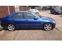Lexus is200 2.0 automatic auto breaking spares parts 98-05 is 200 silver blue black grey can post