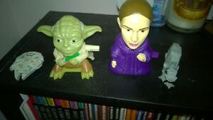 Star Wars Collectibles Leia, Yoda