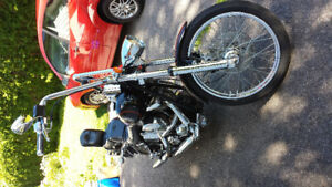 Softail FXSTC, Good Shape, Lot's of extra's