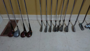 Made in the USA Golfer's Clubs right handed
