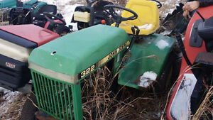 Wrecking Lawn and Garden Tractors for parts!!
