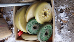 Box of weights