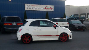 2013 Fiat 500 Abarth PRICE DROP- MUST GO