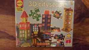 Brand new sealed Alex little hands 3D cityscape puzzle West Island Greater Montréal image 2