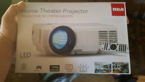 Rca projector with hdmi . Brand new