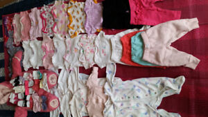 Baby girl 0 to 3 months assorted