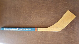 Edmonton Oilers Stanley Cup Champions 1986 Signed Stick