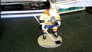 SANTA CLAUS IN A FLORIDA PANTHERS HOCKEY UNIFORM