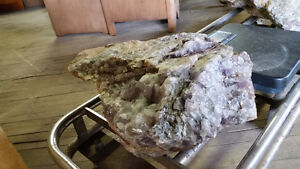 Large Amethyst Garden Stones at FURNITURE RECYCLE