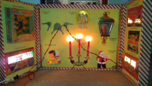 Vintage Noma Salesman Sampler Kit Christmas Lites