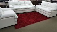 CANADA DAY SPECIAL GENUINE LEATHER 3 PC SOFA SET--ONLY $1949!!!