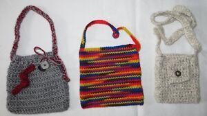 2 - Children's Cute Little Hand Made Purses