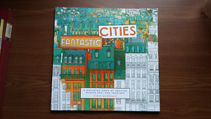 Fantastic Cities colouring book