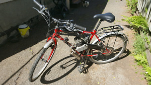 2 motorized  bikes for sale.