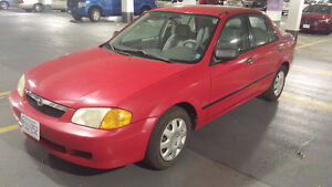 1999 Mazda Protege Sedan | Low Km's! Windsor Region Ontario image 3