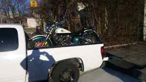 Motorcycle and recreation towing services