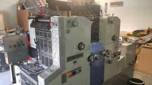 Printing Equipment RYOBI 3302H Offset Press