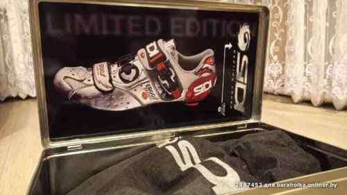 New Sidi Ergo 1 Carbon  Cycling Shoes Dino Signori Limited Edition