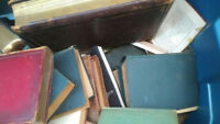 Antique Books from the 1800's