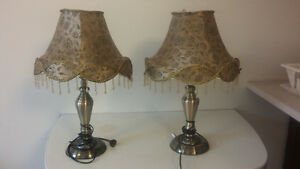 New Table Lamps for $50