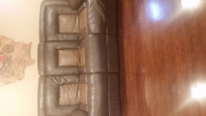 Leather couches 900 obo